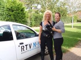 """Opnames voor het programma """"van Zuks dus"""" van RTV Noord-Holland"""