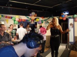 Optreden bij de LOVE televisie in Volendam tijdens de kermis