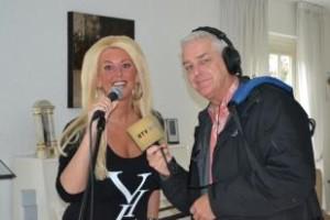 Live radio interview en optreden bij RTV Noord-Holland