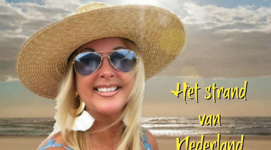 Het strand van Nederland hoes